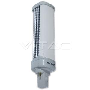 LED Крушка - 10W G24 PL Бяла Светлина