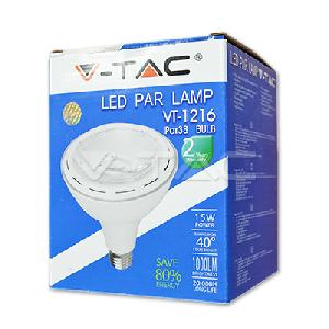 LED Крушка - 15W PAR38 E27 Бяла Светлина