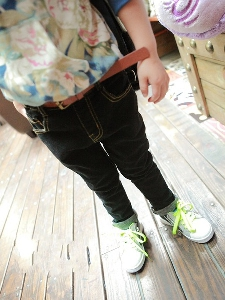 Детски дънки за момчета тип Слим