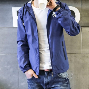Λεπτά ανδρικά   μπουφάν  για το φθινόπωρο με  και χωρίς  κουκούλα- 17 μοντέλα