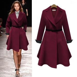 Дамско есенно-зимно палто в четири цвята.
