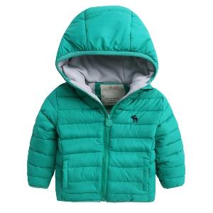 Παιδικά παχύ μπουφάν για το χειμώνα - για τα αγόρια σε έξι χρώματα ... 97f89537d3f