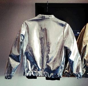 Θεαματική σακάκια φθινόπωρο σε χρυσό και ασήμι.