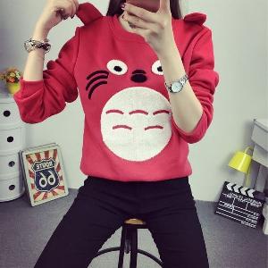 Дамски пуловери с различни десени - Жълт, Червен, Сив, Бял, Розов цвят.