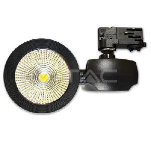 40W LED Прожектор Релсов Монтаж COB 3000K