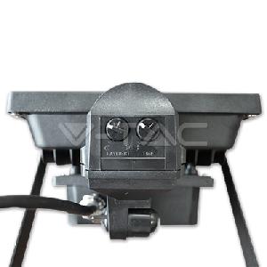 20W LED Прожектор V-TAC Сензор PREMIUM Рефлектор - Топло Бяла Светлина