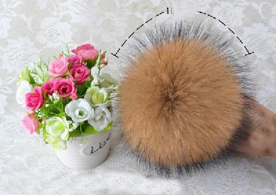 Дамски зимни шапки със свалящ се естествен пух: Черна, Червена, Бежова, Розова, Жълта, Сива, Бяла