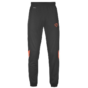 Черен и червен мъжки спортен екип без качулка Nike