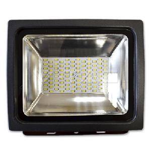 50W LED Прожектор V-TAC Класик PREMIUM SMD - Графит Бяла Светлина