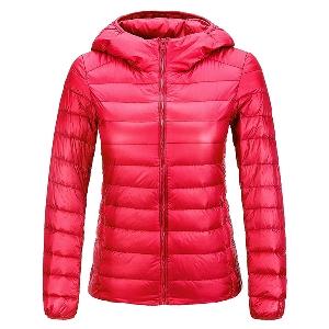 σακάκια των γυναικών φθινόπωρο-άνοιξη σε 12 χρώματα, με κομψή σχεδίαση και κουκούλα, χωρίς τύπο χνούδι λεπτό μαύρο άσπρο κόκκινο
