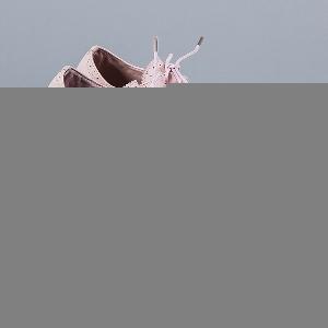 Дамски обувки с платформа и връзки в черен, син, розов цвят.