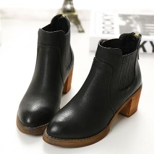 Γυναικείες  χειμερινές μπότες - καφέ, μαύρο, γκρι