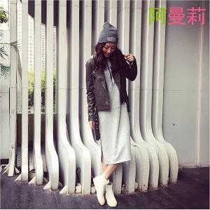 Γυναικείες  καουτσούκ μπότες σε μαύρο και άσπρο - αντιολισθητικές  και αναπνεύσιμα