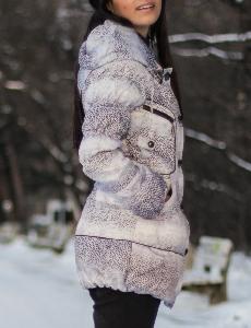 Тигрово яке с Гъши Пух в Бяло