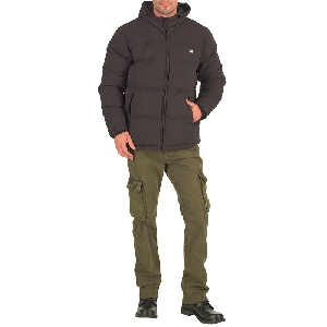 Caterpillar Mens Puffa Jacket Black