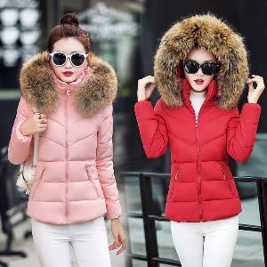 χειμώνα σακάκι των γυναικών σε διάφορα χρώματα με κορδέλα πίσω και οικολογικό σφολιάτας