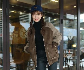 Οι γυναίκες παραγεμισμένο βαμβακερό χοντρό σακάκι χειμώνα με ρεγκλάν μανίκια