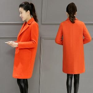 Γυναικείο μάλλινο κομψό παλτό σε δύο κλασικά χρώματα - Badu.gr Ο ... 16ca5061278