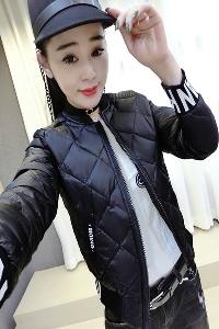 Οι γυναίκες λεπτή μαύρη προσαρμοσμένες σύντομο φθινόπωρο και την άνοιξη σακάκι