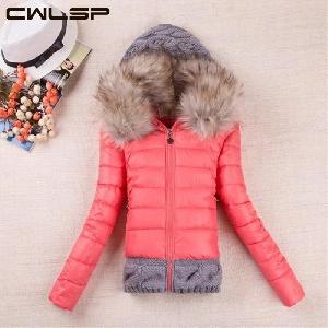Зимно яке с пух в различни цветове, розово синьо, черно и жълто