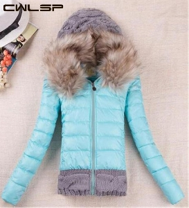 Χειμερινό Μπουφάν  με γούνα