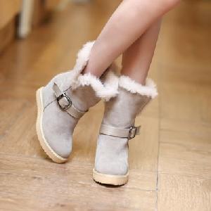 Дамски зимни ботуши с пух - 3 модела