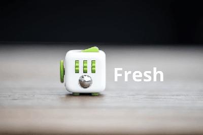 Специално кубче за облекчаване на различни начини на стреса