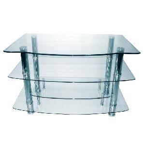TV поставки със закалено стъкло