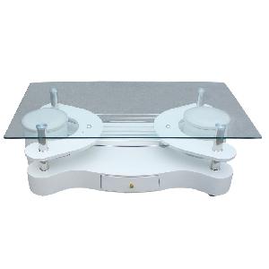 Холна маса със закалено стъкло размери: 2