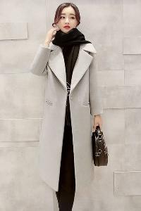 Дамско вталено палто в 6 цвята.