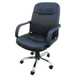 Офис столове с  еко-кожа Дери 1  / 2 цвята