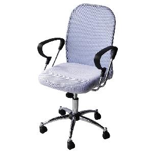 Офис столове с текстил 2 цвята