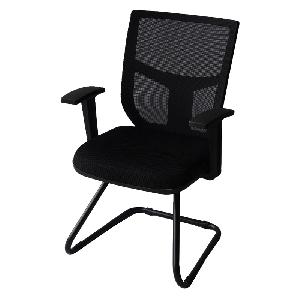 Посетителски офис стол с текстил