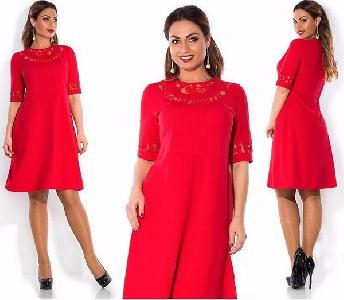 Дамски летни рокли Макси в три цвята син, червен и черен