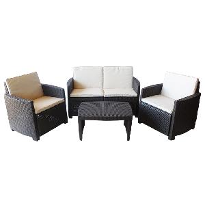 Мебели за градината комплект Липари / 3 цвята