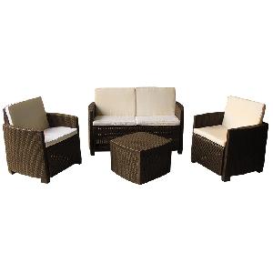 Градински мебели комплект Етна / 3 цвята