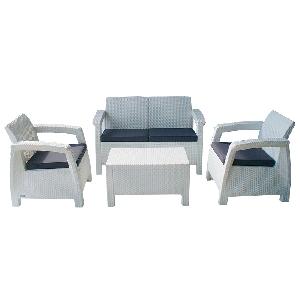 Градински мебели комплект Корфу / 3 цвята