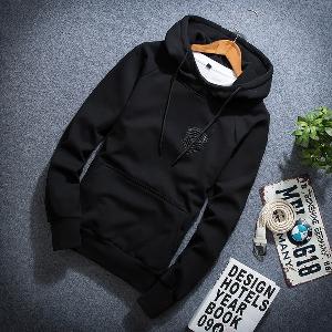 Ανδρικό φούτερ με κουκούλα και τσέπη στο μπροστινό μέρος - Badu.gr Ο ... 1e5c52d42a5