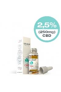 CBD Oil 2.5% 10ml (CBD 250mg)  30ml (CBD 750mg)  50ml (CBD 1250mg)