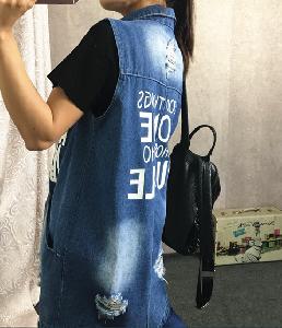 Γυναικών τζιν μπουφάν - μεγάλες και σε δύο μοντέλα - με μανίκι και αμάνικα