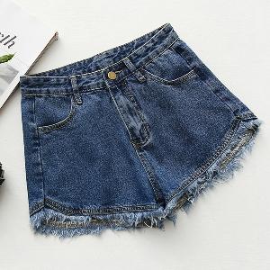 Къси дамски дънкови панталони в няколко цвята