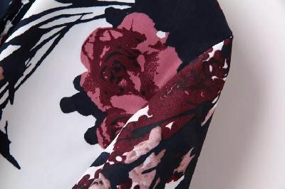 Σακάκι με φυτικά μοτίβα για την Άνοιξη και το  Φθινόπωρο