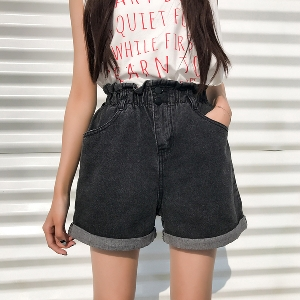 Уникални дамски широки дънкови панталони идеални за летните горещни дни