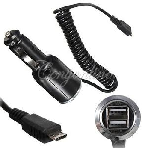 Универсално зарядно с двоен USB порт  за автомобила