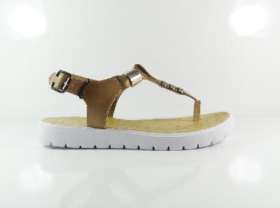 Дамски сандали в бежово