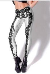 Клин, изобразяващ костната структура на човек