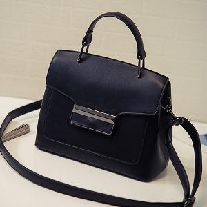 Дамска чанта тип куфарче в няколко цвята