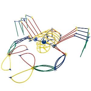 Конструктор с цветни пръчици GALT