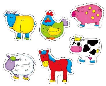 Бебешки пъзел - Ферма GALT