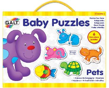 Бебешки пъзел - Домашни любимци